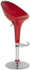 Zorab Swivel Barstool Red Bar Chair