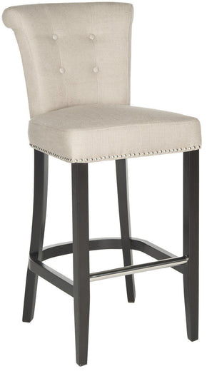 Addo Ring Bar Stool Biscuit Beige Chair
