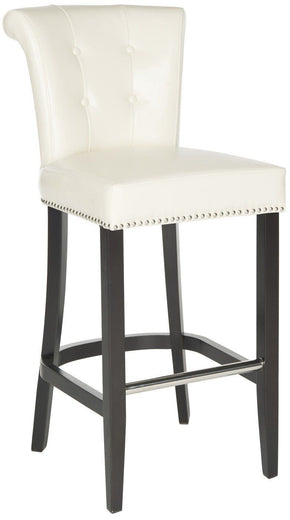 Bar Chairs - Safavieh HUD8242D Addo Ring Bar Stool Flat Cream | 683726485087 | Only $279.80. Buy today at http://www.contemporaryfurniturewarehouse.com