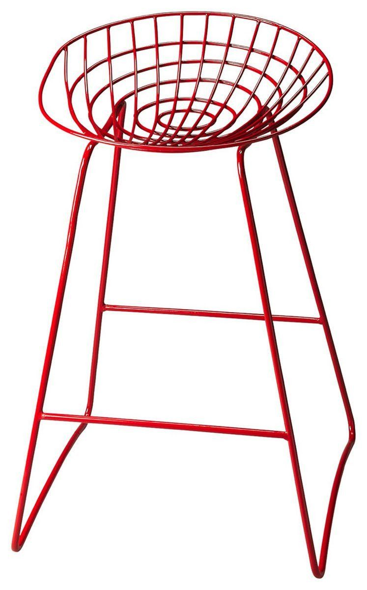 Fabulous Buy Butler Furniture But 5140293 Ludwig Transitional Round Bar Stool Red At Contemporary Furniture Warehouse Uwap Interior Chair Design Uwaporg