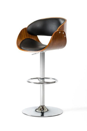 Modrest Roblin Modern Black Bar Stool Chair
