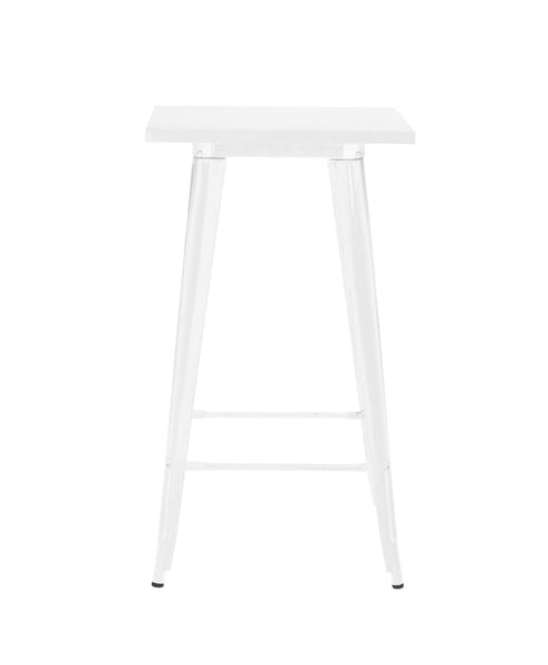 Sundsvall Glossy White Steel Bar Table 42