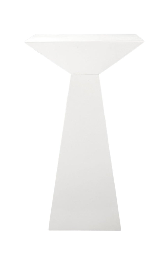 Tad Bar Table In High Gloss White