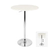 Elia Bar Table White