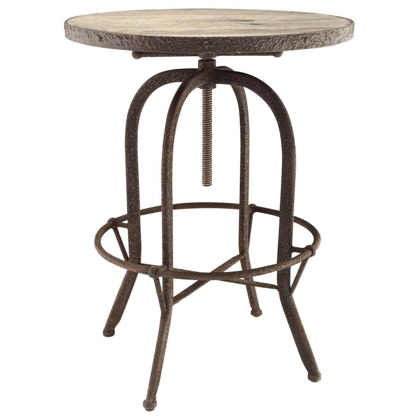 Picture of: Modway Bar Tables On Sale Eei 1200 Brn Sylvan Industrial Modern Wood Top Bar Table Only Only 387 05 At Contemporary Furniture Warehouse
