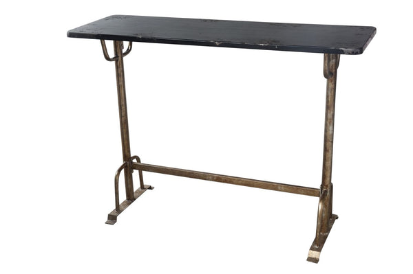 Sturdy Contemporary Industrial Bar Table