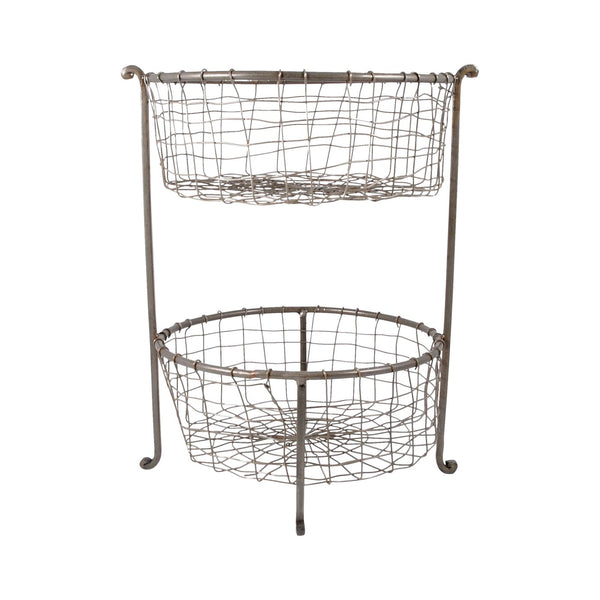Rockwell Double Utility Basket Natural