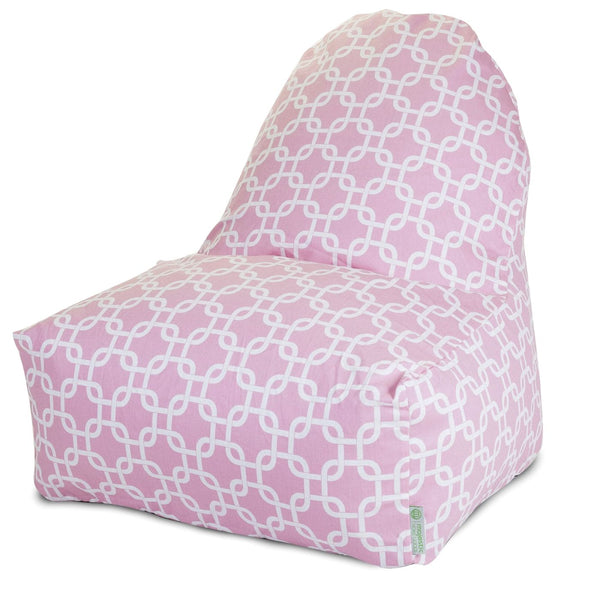 Soft Pink Links Kick-It Chair Bean Bag