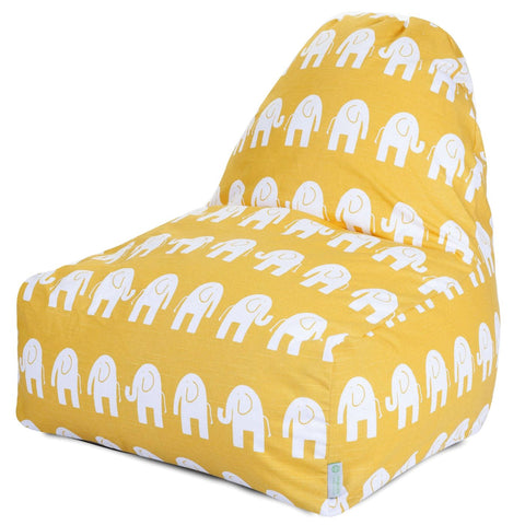 Yellow Ellie Kick-It Chair Bean Bag