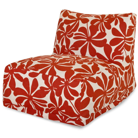 Red Plantation Bean Bag Chair Lounger