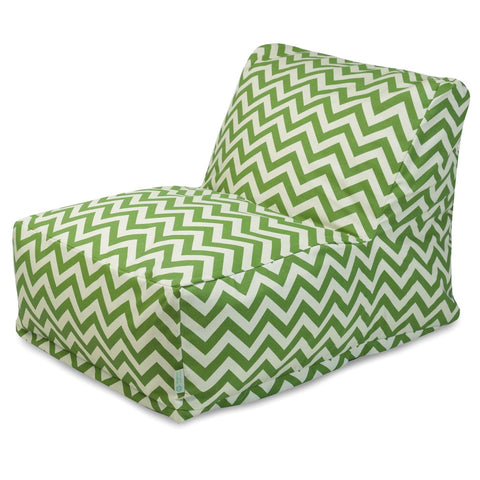 Sage Chevron Bean Bag Chair Lounger