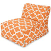 Peach Trellis Bean Bag Chair Lounger
