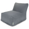 Gray Solid Bean Bag Chair Lounger