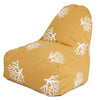 Yellow Coral Kick-It Chair Bean Bag