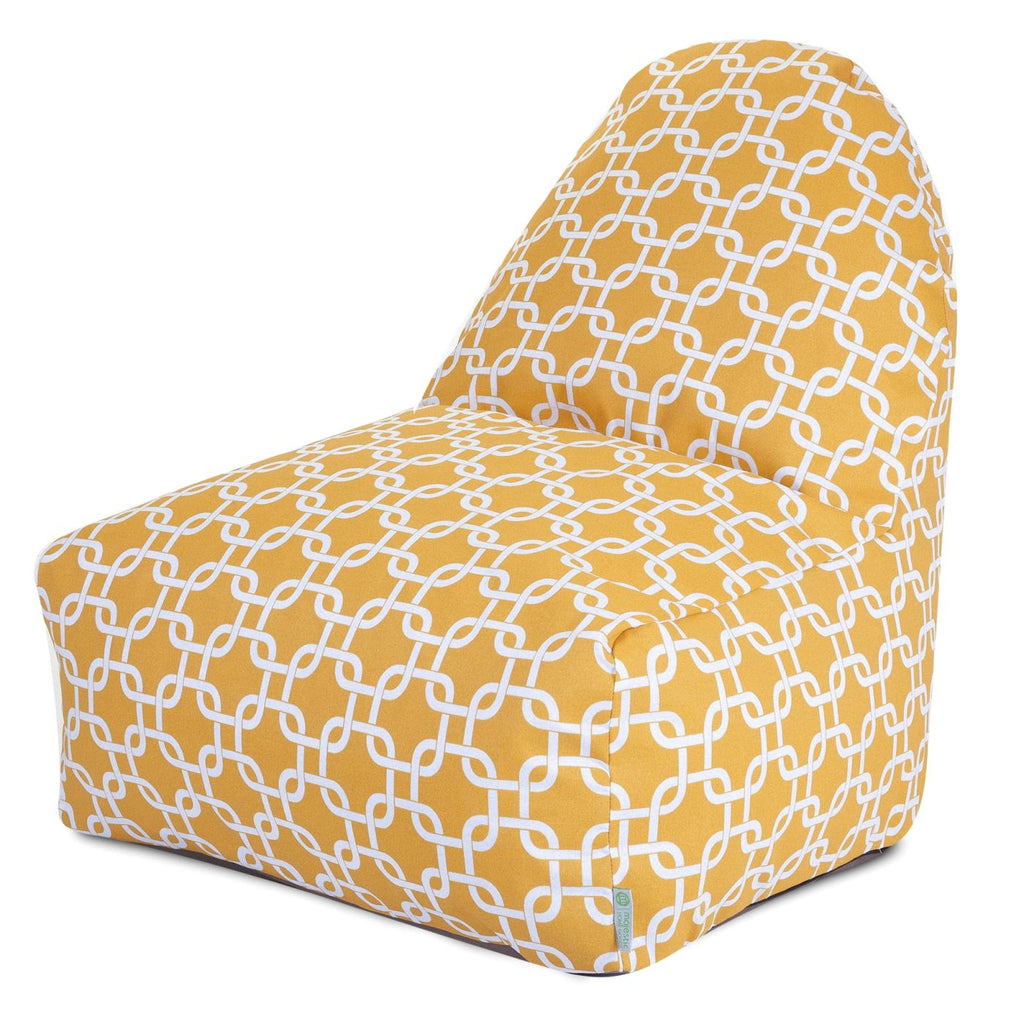 Yellow Links Kick-It Chair Bean Bag