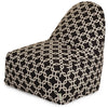 Black Links Kick-It Chair Bean Bag