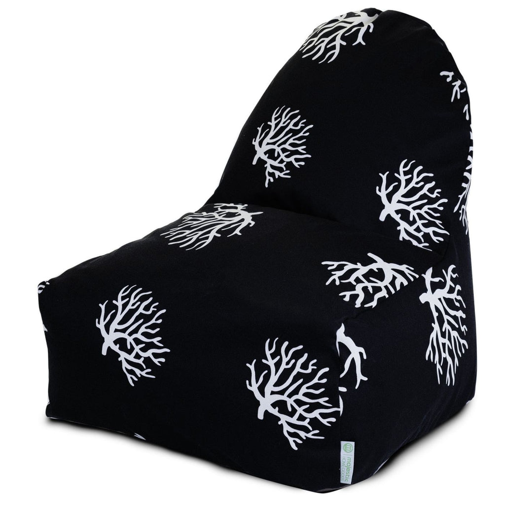 Black Coral Kick-It Chair Bean Bag