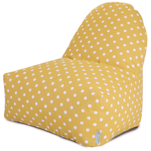 Citrus Ikat Dot Kick-It Chair Bean Bag