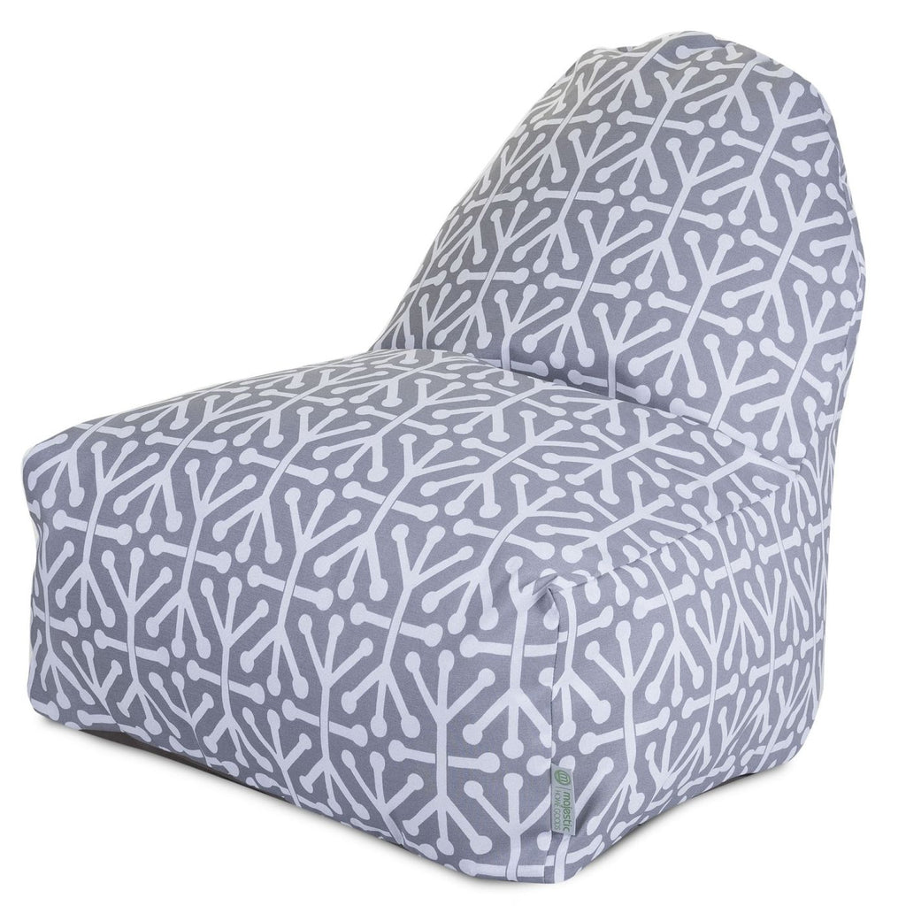 Gray Aruba Kick-It Chair Bean Bag