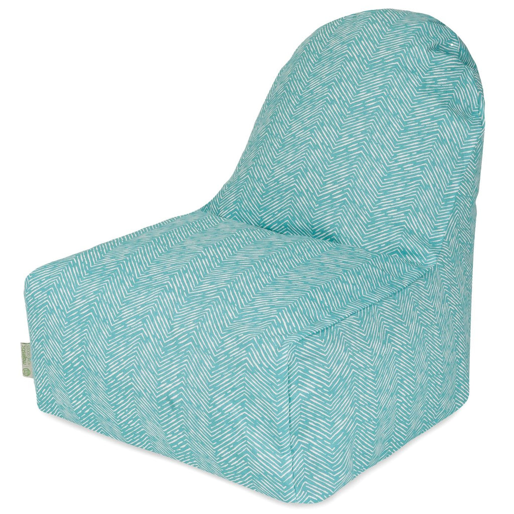Teal Navajo Kick-It Chair Bean Bag