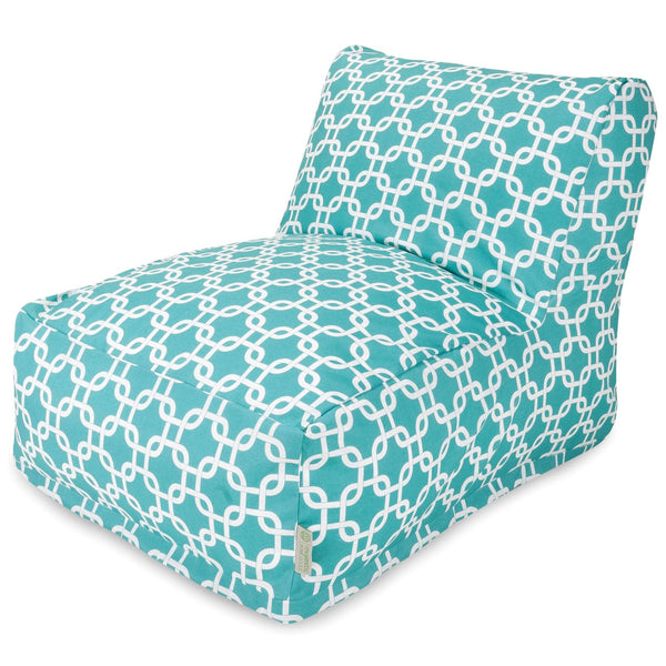Buy Majestic Home 85907238034 Teal Links Bean Bag Chair