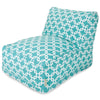 Teal Links Bean Bag Chair Lounger