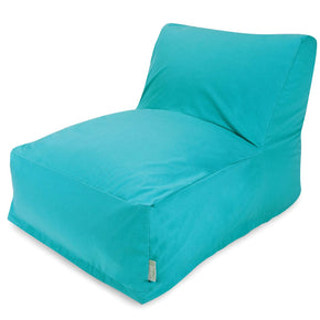 Bean Bag Chairs - Majestic Home 85907238035 Teal Bean Bag Chair Lounger | 859072380350 | Only $138.80. Buy today at http://www.contemporaryfurniturewarehouse.com