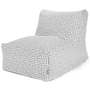 Gray Towers Lounger Chair Bean Bag