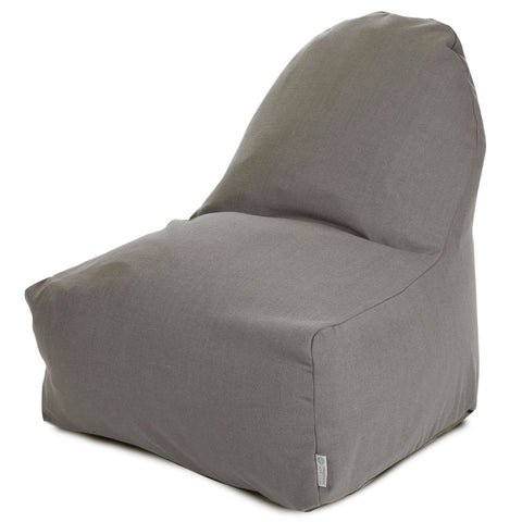 Bean Bag Chairs - Majestic Home Gray Wales Kick-It Chair | 85907251066 | 859072510660| $119.80. Buy it today at www.contemporaryfurniturewarehouse.com