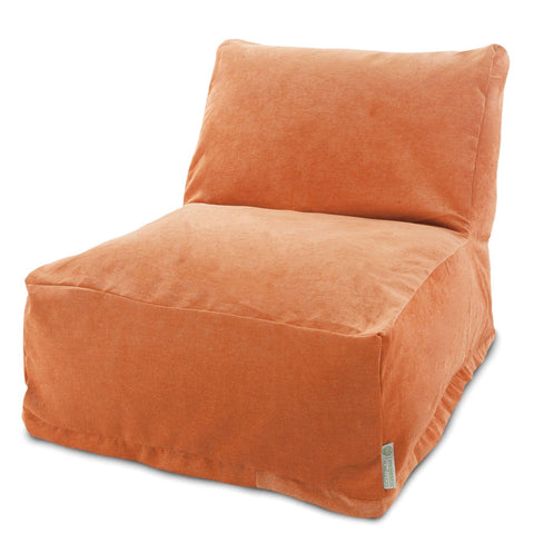 Villa Orange Bean Bag Chair Lounger