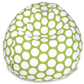 Hot Green Large Polka Dot Small Classic Bean Bag