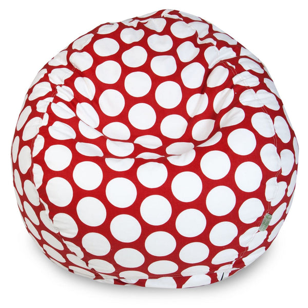 Red Hot Large Polka Dot Small Classic Bean Bag