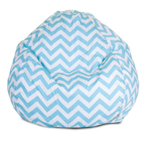 Tiffany Blue Chevron Small Classic Bean Bag