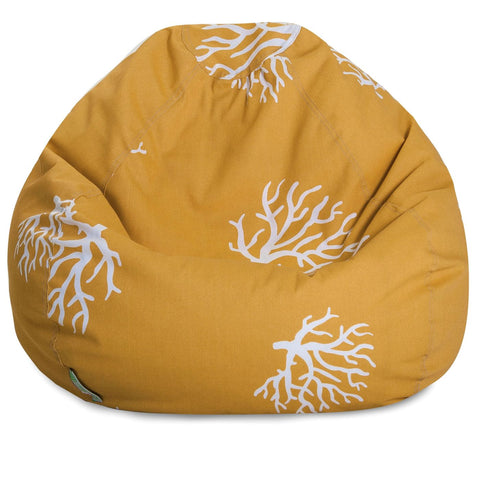Yellow Coral Small Classic Bean Bag