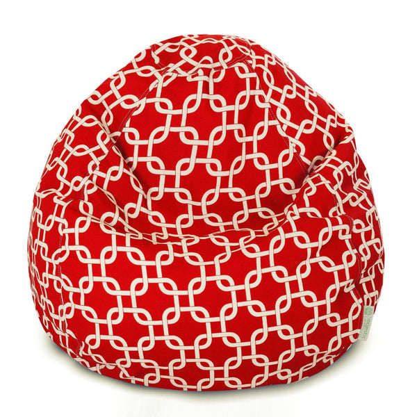 Red Links Small Classic Bean Bag