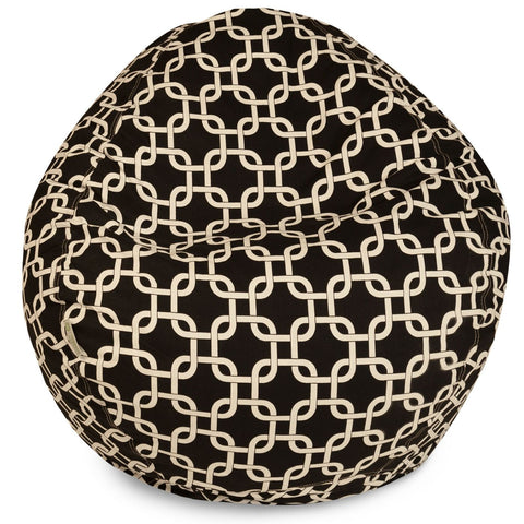 Black Links Small Classic Bean Bag