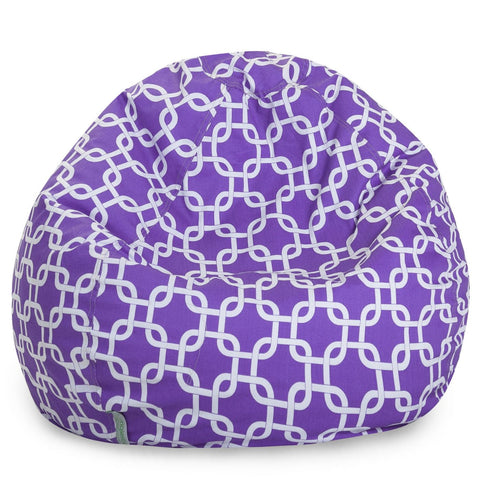Purple Links Small Classic Bean Bag