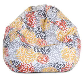 Citrus Blooms Small Classic Bean Bag
