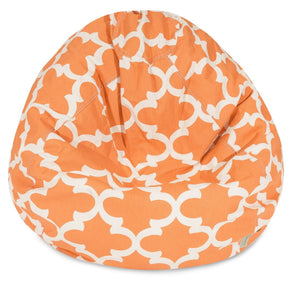 Peach Trellis Small Classic Bean Bag