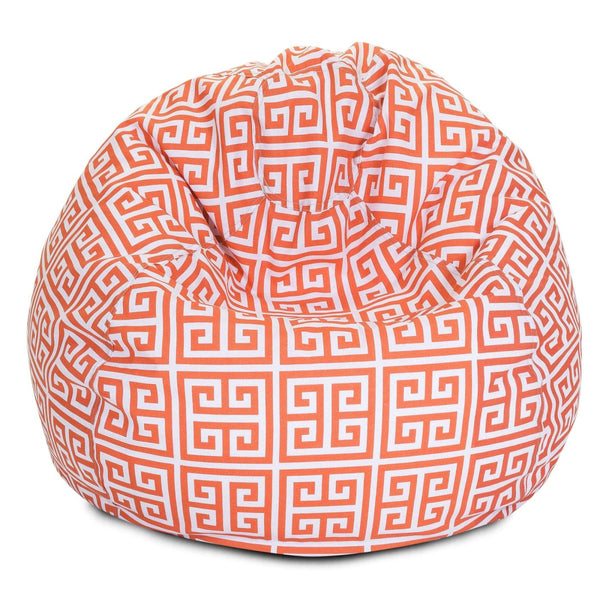 Orange Towers Small Classic Bean Bag