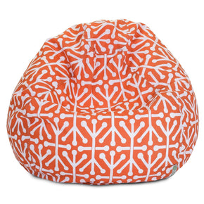 Orange Aruba Small Classic Bean Bag