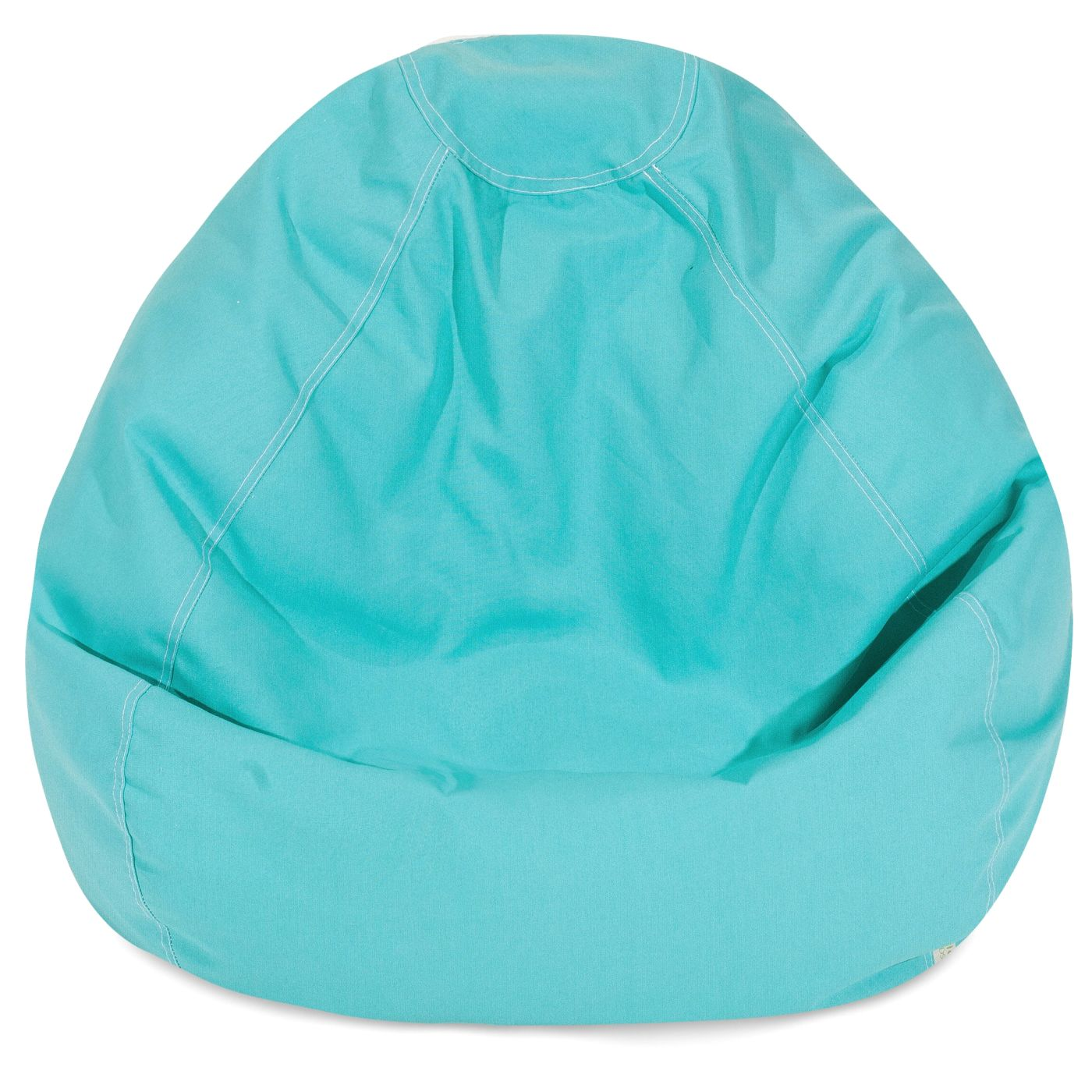 Teal small classic bean bag by majestic home 85907248035 for Small teal chair