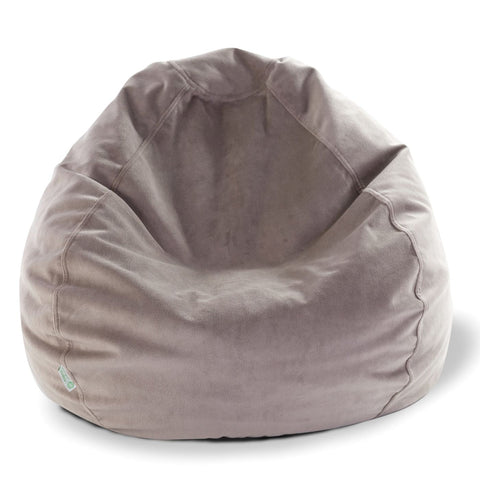 Steel Micro-Velvet Small Classic Bean Bag