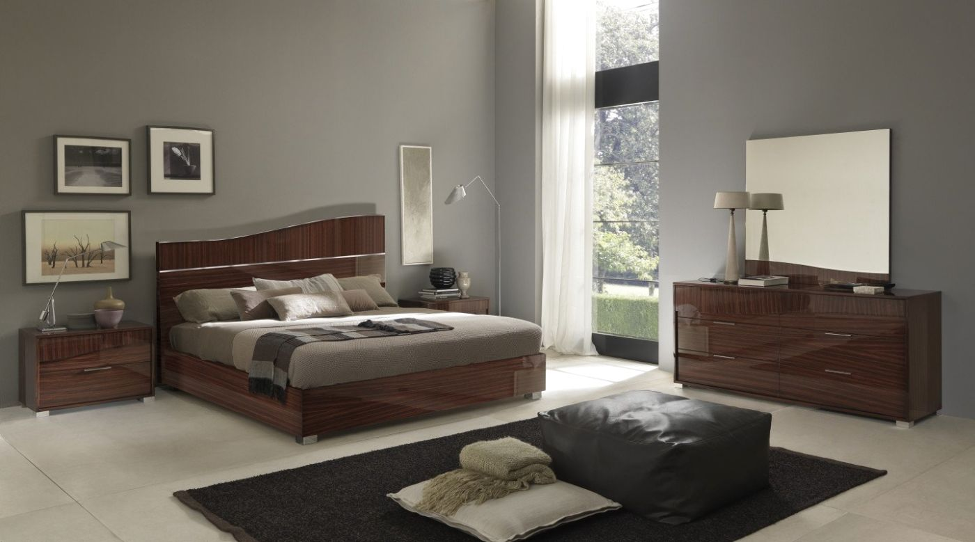 Sma sogno modern luxurious made in italy bedroom set