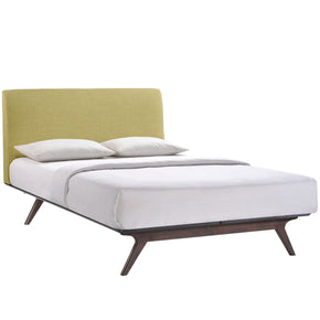 Tracy Full Bed Cappuccino Green