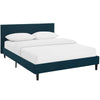 Anya Queen Platform Bed Upholstered Fabric