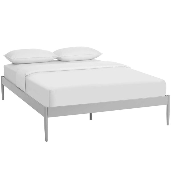 Elsie King Bed Frame Gray