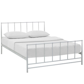 Estate Queen Bed White