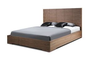 Anna Bed King Squares Design In Headboard