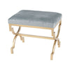 Comtesse Bench Gold,duck Egg Blue